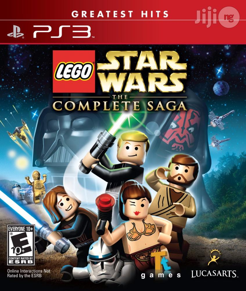 Brand New Ps3 Lego Star Wars The Complete Saga