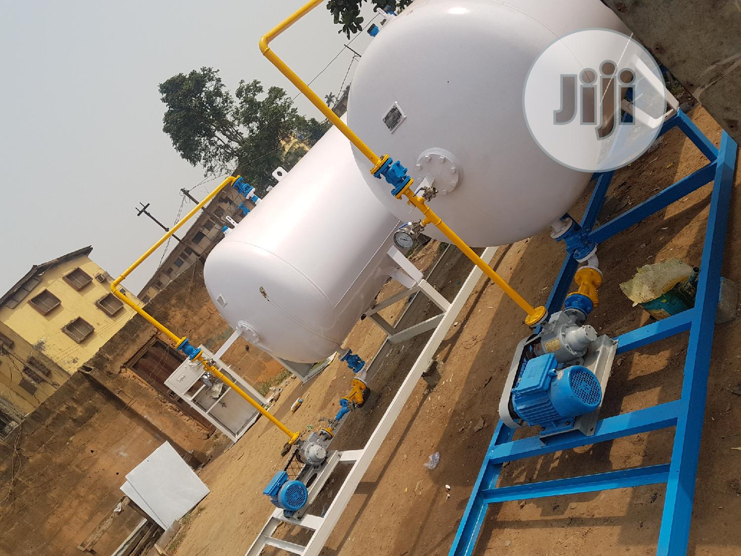Installation Of 2.5tons LPG Tank With W-pump And Auto Dispenser  | Manufacturing Equipment for sale in Ikeja, Lagos State, Nigeria