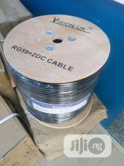 Vision UK Rg59+ Power Cable ( Pure Copper) | Electrical Equipment for sale in Lagos State, Ikoyi