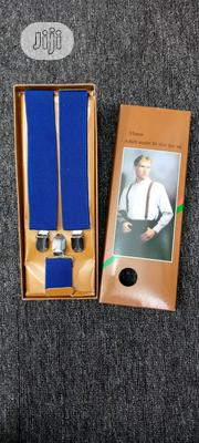 Plain Suspenders Cross Belts For Unisex   Clothing Accessories for sale in Lagos State, Lagos Island