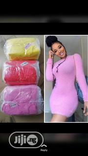 New Female Pink Fitted Short Gown | Clothing for sale in Lagos State, Victoria Island