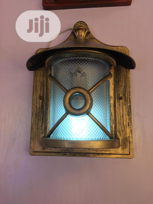 Redesigned Ancient Outdoor Light