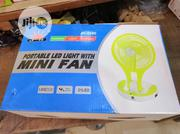 Rechargeable Portable LED Light With Mini Fan | Home Appliances for sale in Lagos State, Ipaja