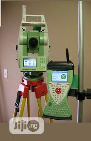 """Leica Ts12 P 3"""" R400 Robotic Total Station Cs15 Rh16 For Surveying 