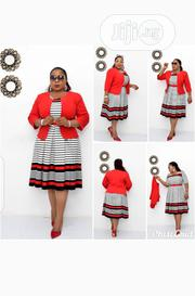 New Quality Female Flare Gown With Jacket | Clothing for sale in Lagos State, Lekki Phase 1