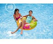 Intex Groovy Color Inflatable Flower Transparent Tube Raft | 58263EP | Toys for sale in Lagos State, Ojo