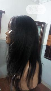 18 Inches 100% Peruvian Human Hair Wig | Hair Beauty for sale in Lagos State, Ojodu