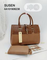Laether Susen Brown Female Handbag | Bags for sale in Lagos State, Lagos Island