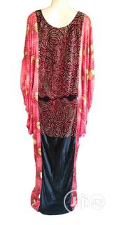 Senegalese Boubou Mixed With Silk And Velvet | Clothing for sale in Lagos State, Ikeja
