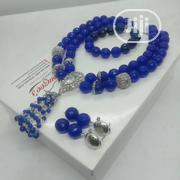 Blue Stones With Silver Accessories Set | Jewelry for sale in Lagos State, Alimosho
