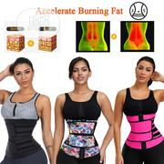 Neoprene Waist Trainer Body Shaper Slimming Wrap Belt | Sports Equipment for sale in Lagos State, Surulere