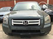 Honda Pilot 2007 LX 4x2 (3.5L 6cyl 5A) Green   Cars for sale in Lagos State, Ikeja