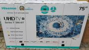 Hisense 75 Inches Television Uhd 4k Smart | TV & DVD Equipment for sale in Lagos State, Ojo