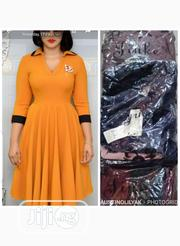 New Collar Female Flare Gown | Clothing for sale in Lagos State, Amuwo-Odofin