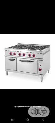 6burners Gas Cooker With Oven. Industrial Range Cooker   Restaurant & Catering Equipment for sale in Abuja (FCT) State, Maitama