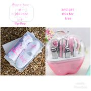 Gift Box Of Bridal Robe And Flip-flop (Bulk Purchase)   Arts & Crafts for sale in Lagos State
