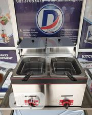 Table Top Gas Deep Fryer 10L X2 | Kitchen Appliances for sale in Lagos State, Ojo