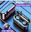 F9 Bluetooth 5.0 TWS Earbud Headset With Led Display   Headphones for sale in Ikeja, Lagos State, Nigeria
