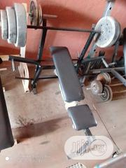 Weight Bench With 40kg Weight | Sports Equipment for sale in Lagos State, Surulere