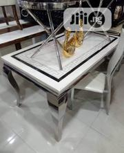High Class Smart Six Seater Marble Dining Table | Furniture for sale in Lagos State, Ajah