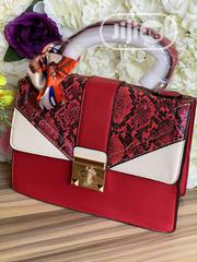 New Female Red Leather Handbag   Bags for sale in Lagos State, Victoria Island