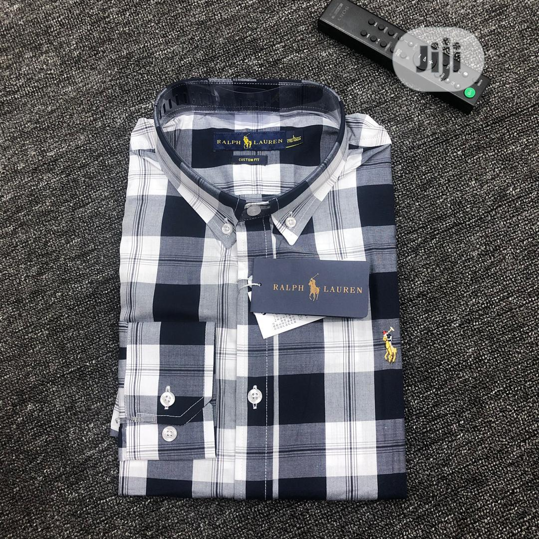 Polo Ralph Lauren Long Sleeve Men Shirts | Clothing for sale in Lagos Island, Lagos State, Nigeria