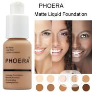 PHOERA Flawless Liquid Matte Foundation Full Coverage Foundation 30ml | Makeup for sale in Lagos State, Ikeja