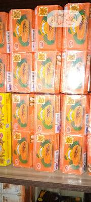 Asantee Herbal Lightening Soap With Papaya & Honey (6 Pic's In Pack) | Bath & Body for sale in Lagos State, Ojo