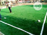 Artificial Green Grass Installation For Soccer Field | Landscaping & Gardening Services for sale in Lagos State, Ikeja