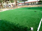 Fake Synthetic Grass For Mini Football Pitch Installation | Landscaping & Gardening Services for sale in Lagos State, Ikeja