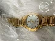Look World Designers Gold Plated Stainless Steel Wristwatch   Watches for sale in Lagos State, Ibeju