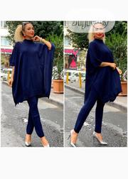Quality Ladies Blue Turkey Top With Trousers | Clothing for sale in Lagos State, Victoria Island