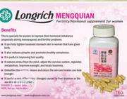 Longrich Mengquain Female Fertility Supplement And Hormonal Supplement | Vitamins & Supplements for sale in Plateau State, Jos