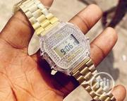 Casio Digital Iced Gold Watch   Watches for sale in Lagos State