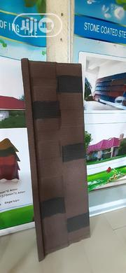 Original Newzealand Stone Coated Sheets (Brown And Black Shingle)   Building Materials for sale in Lagos State, Amuwo-Odofin