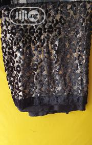 Black Gold Big Velvetine Lace | Clothing for sale in Lagos State, Ojo