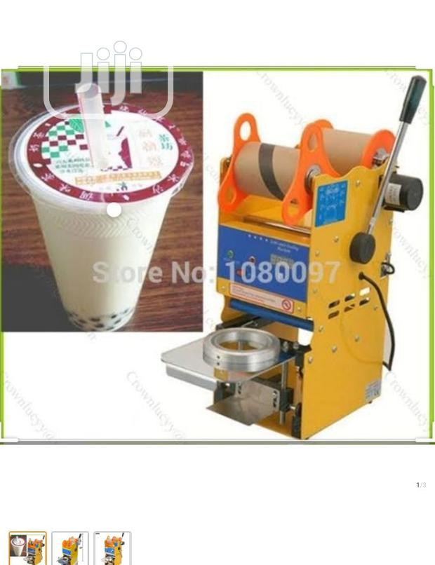 Archive: Electric Cup Sealing Machine