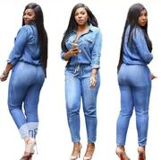 Jeans Jumpsuit   Clothing for sale in Lagos State, Lagos Island
