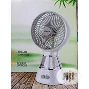 """6"""" Lontor Rechargeable Fan With Led Light 