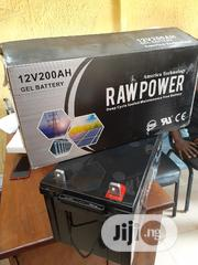 200ah 12volts Raw Power Gel Battery | Solar Energy for sale in Lagos State, Ojo
