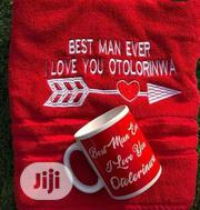 Customized Gift Set ( Towel&Mug) | Home Accessories for sale in Lagos State, Lagos Island