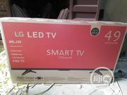 LG 49 Inches Led Smart TV, With Free Tv Surge And Free Tv Hanger | TV & DVD Equipment for sale in Lagos State
