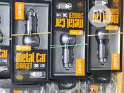 Ldnio Dual USB Metal Car Charger For IOS And Android | Vehicle Parts & Accessories for sale in Lagos State, Ikeja