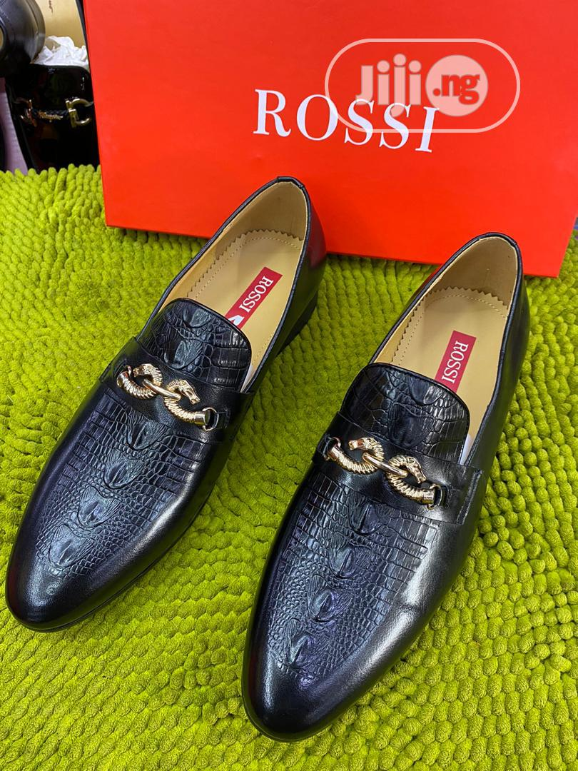 Rossi Classic Leather Shoes for Men