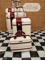 Trolley Case Suite Case Bags (4 Sets) Cream Color Luggage | Bags for sale in Lagos State, Ikeja
