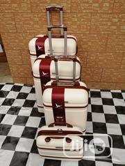 Trolley Suite Case Bags (4 Sets) Creamy Colors | Bags for sale in Lagos State, Ikeja