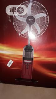 """Sonik 18"""" Rechargeable Water/Mist Fan With LED Light Remote Control 