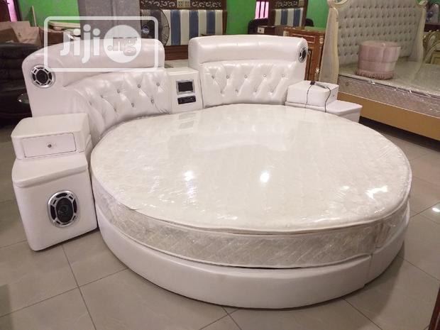 High Quality Imported Round Bed With Sound System