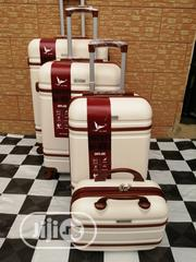 Quality Cream Color Trolley Suite Case Bags (4 Sets) For Vacations | Bags for sale in Lagos State, Ikeja