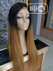 Two Toned Silky Human Hair Wig With Closure | Hair Beauty for sale in Lagos State, Ikeja